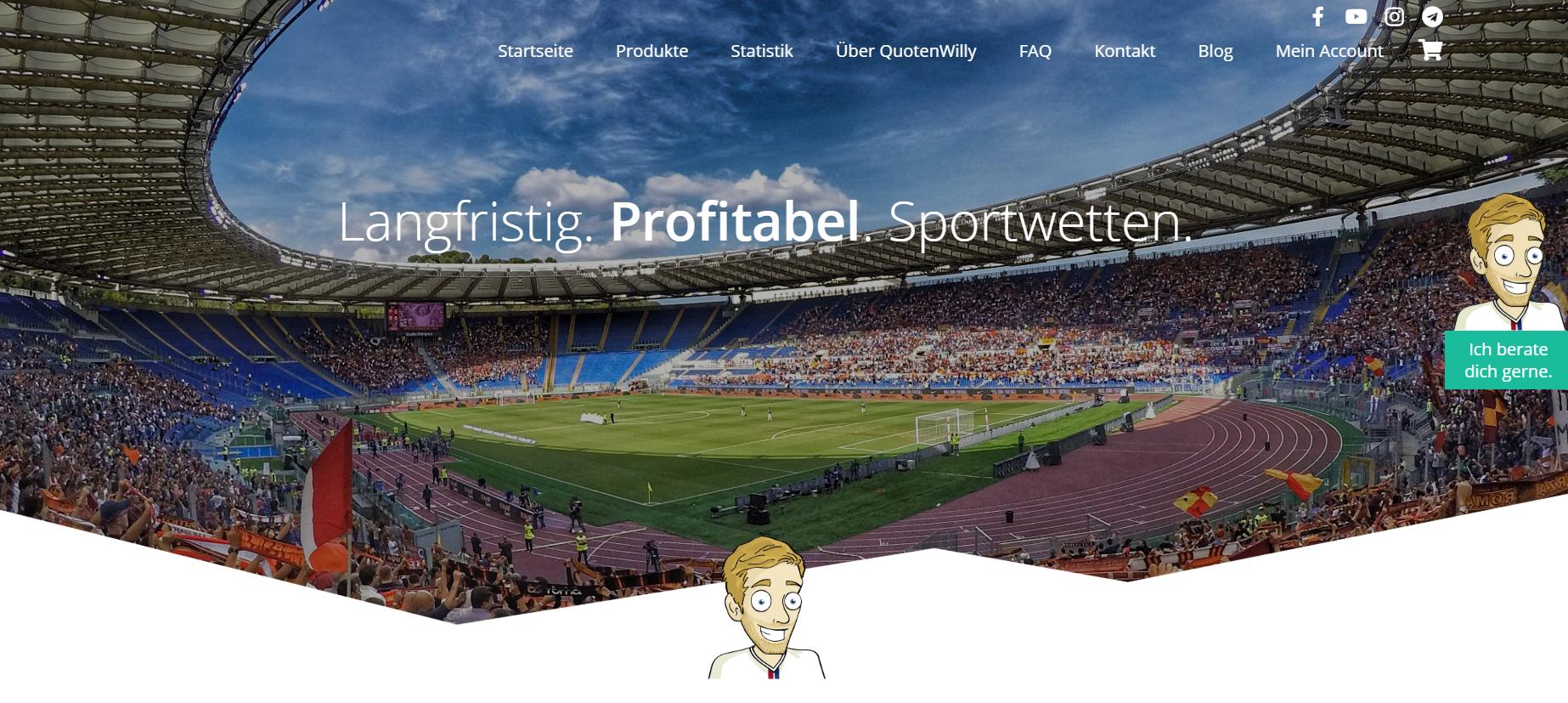 Jan Maak & Sportwetten: Erfahrungen mit Quotenwilly.com