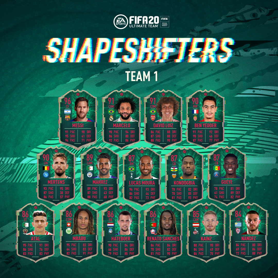FIFA 20 Shapeshifters Event